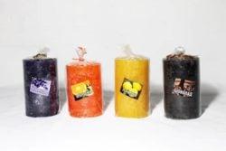 Свічка декоративна пахуча циліндр