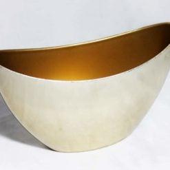 ART Ємність човник золото