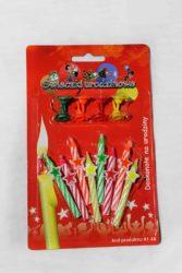"""Свічка """"День народження"""" зірка"""
