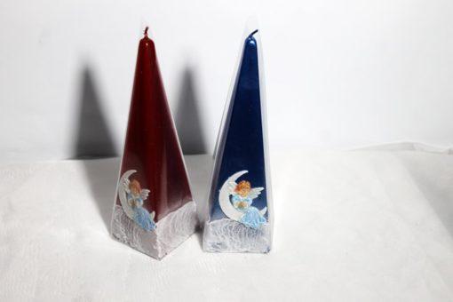 Свічка піраміда новорічна №7