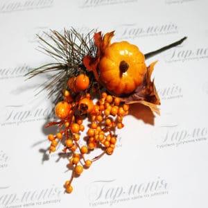Галузка гарбуз осінь