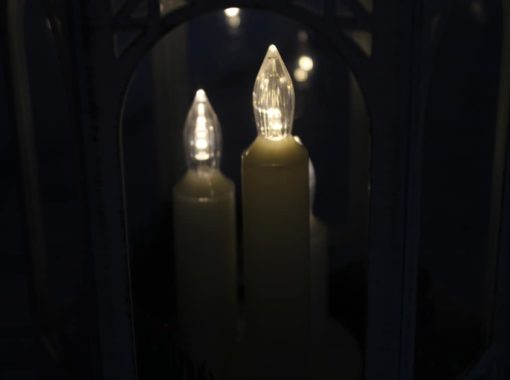 Лампа LED три свічки