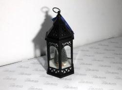 Лампа LED  ялинки чорна