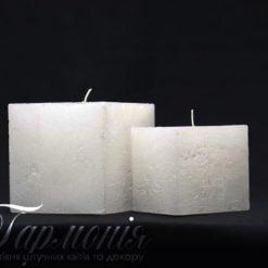 Свічка «Куб» з діодами
