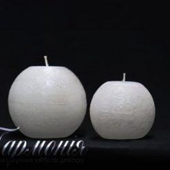 Свічка «Куля» з діодами