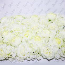 Килимок з квітів гортензія і півонія