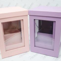 Коробка декоративна комплект з віконечком W73