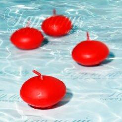 Свічка плаваюча матова (12 шт)
