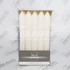 Свічки столові KOLOR 10 шт