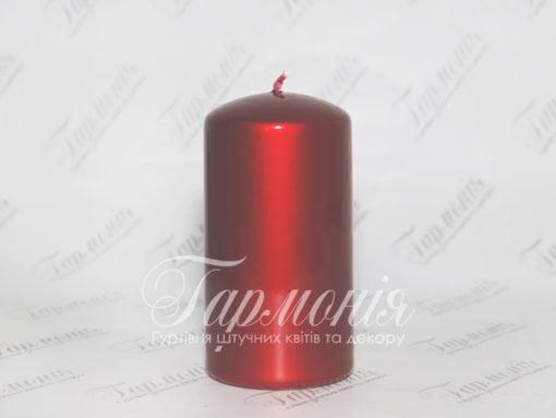 Свічка оздоблена AURORA циліндр