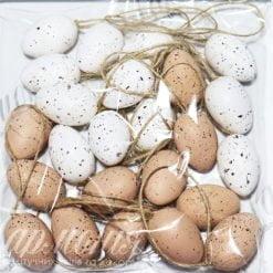 Яйця пасхальні в цяточку 24шт TG54849