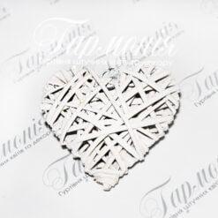 Серце плетене RY15344-10