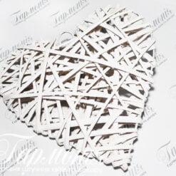 Серце плетене RY15344-25