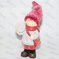 Фігурка «Хлопчик зі сніжкою» малий 192080