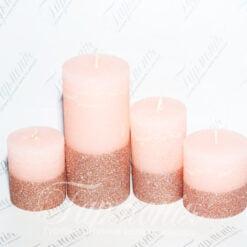 Свічка ароматизована з блискітками Запах