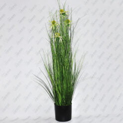 Трава ромашки вазон CV15391